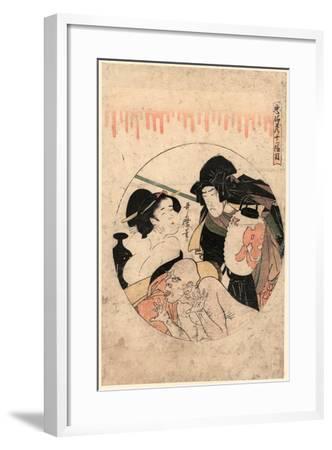 Juichidanme-Kitagawa Utamaro-Framed Giclee Print