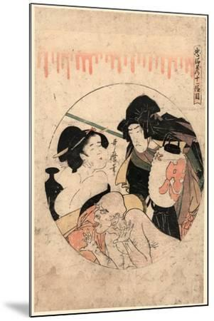 Juichidanme-Kitagawa Utamaro-Mounted Giclee Print