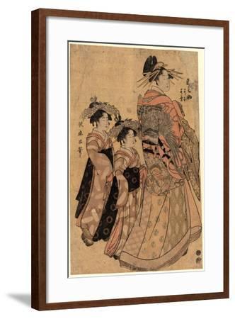 Matsubaya Uchi Somenosuke-Kitagawa Utamaro-Framed Giclee Print