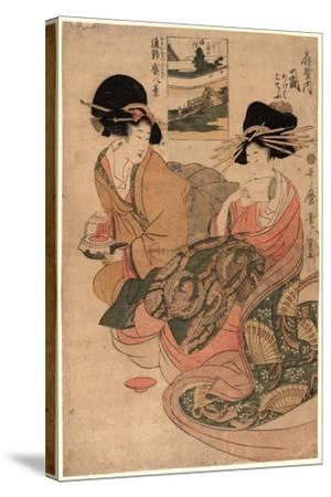 Ogiyauchi Tsukasa-Kitagawa Utamaro-Stretched Canvas Print
