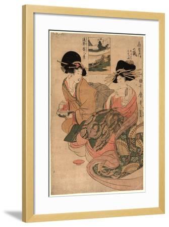 Ogiyauchi Tsukasa-Kitagawa Utamaro-Framed Giclee Print