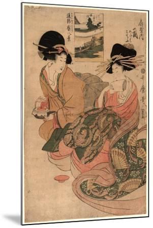 Ogiyauchi Tsukasa-Kitagawa Utamaro-Mounted Giclee Print