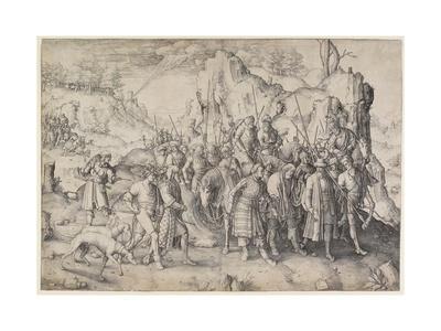 Conversion of St. Paul, 1509-Lucas van Leyden-Framed Giclee Print