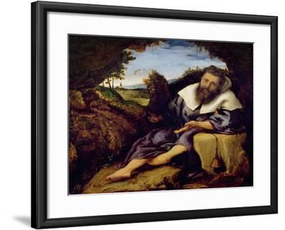 The Temptation of St. Anthony-Lorenzo Lotto-Framed Giclee Print