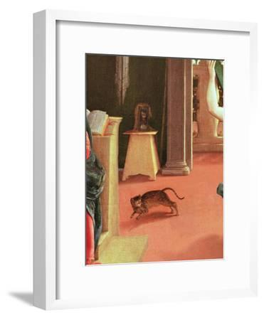 The Annunciation, C.1534-35-Lorenzo Lotto-Framed Giclee Print