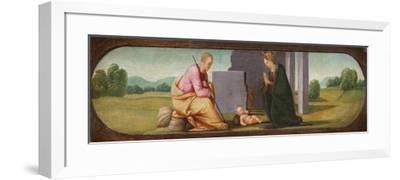 The Nativity, C.1503-Mariotto Albertinelli-Framed Giclee Print