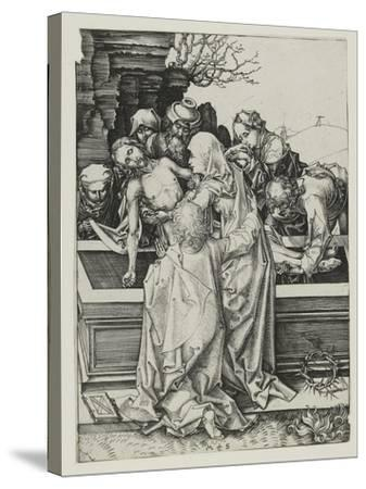 The Entombment-Martin Schongauer-Stretched Canvas Print