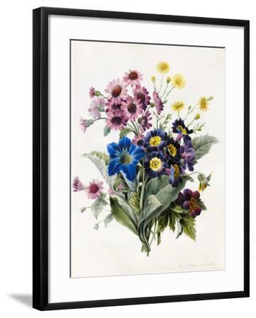 Mixed Flowers-Louise D'Orleans-Framed Giclee Print