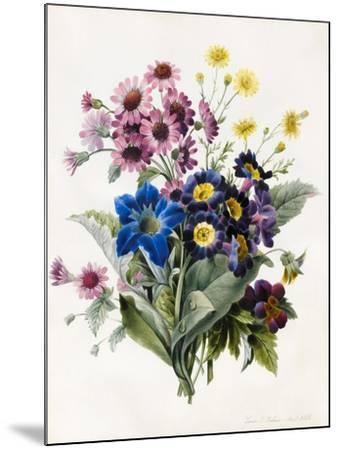 Mixed Flowers-Louise D'Orleans-Mounted Giclee Print