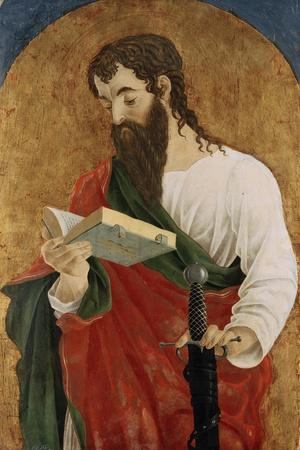 St Paul, 1468-Marco Zoppo-Stretched Canvas Print