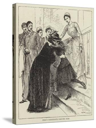 Illustration for the Story of a Nurse-Mary L. Gow-Stretched Canvas Print