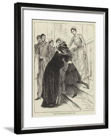 Illustration for the Story of a Nurse-Mary L. Gow-Framed Giclee Print
