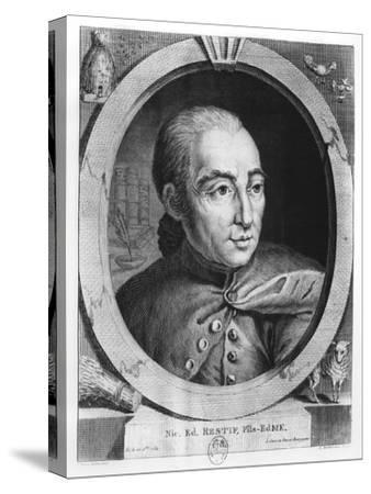 Nicolas, Rétif De La Bretonne-Louis Berthet-Stretched Canvas Print