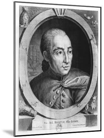 Nicolas, Rétif De La Bretonne-Louis Berthet-Mounted Giclee Print