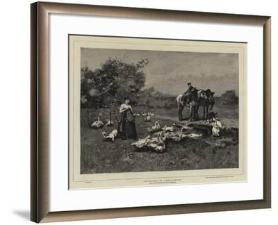 Exchange of Compliments-Luigi Chialiva-Framed Giclee Print