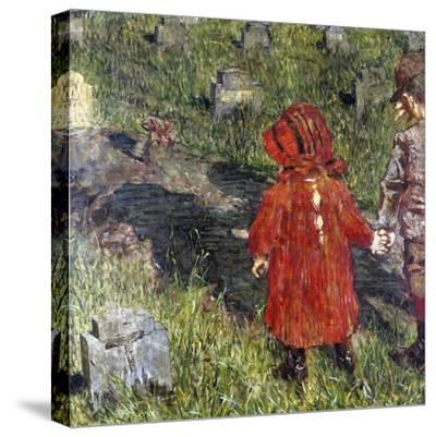 Number 317, 1891-Luigi Conconi-Stretched Canvas Print