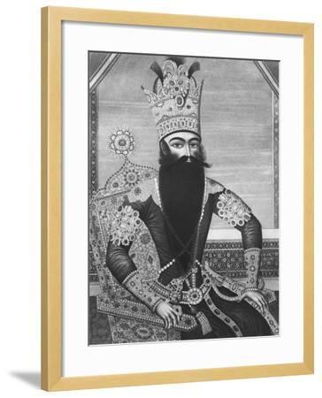 Fath-Ali Shah Qajar-Louis Charles Ruotte-Framed Giclee Print