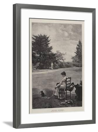 Bright Summer-Marcus Stone-Framed Giclee Print