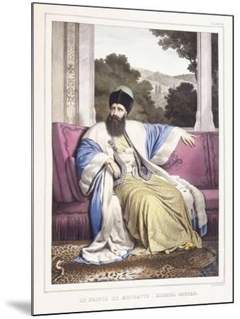 The Prince of Moldavia-Louis Dupre-Mounted Giclee Print