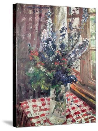 Larkspur, 1924-Lovis Corinth-Stretched Canvas Print