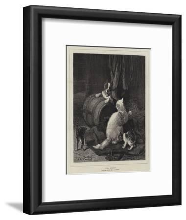 The Enemy-Louis Eugene Lambert-Framed Giclee Print
