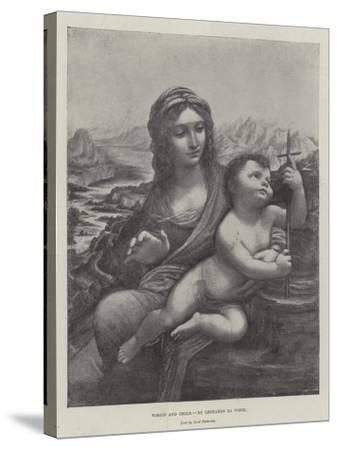 Virgin and Child-Leonardo da Vinci-Stretched Canvas Print