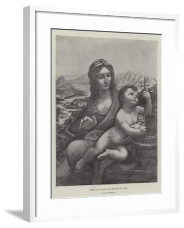 Virgin and Child-Leonardo da Vinci-Framed Giclee Print
