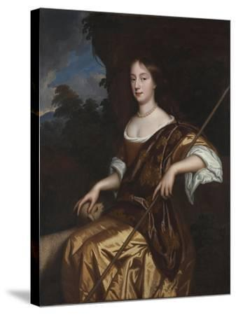 Portrait of Elizabeth Adams, Late 1660s-Mary Beale-Stretched Canvas Print