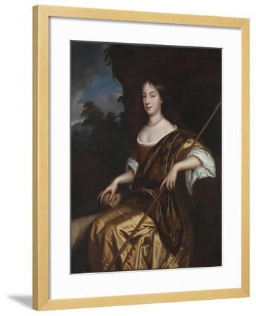 Portrait of Elizabeth Adams, Late 1660s-Mary Beale-Framed Giclee Print