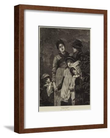 God Rest You, Merry Gentlemen!-Lionel Percy Smythe-Framed Giclee Print