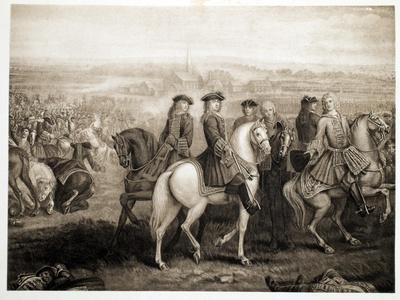 Battle of Blenheim, Pub. 1902-Louis Laguerre-Framed Giclee Print