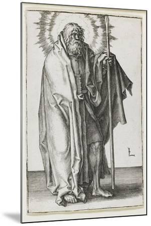 St. James Major, 1510-Lucas van Leyden-Mounted Giclee Print