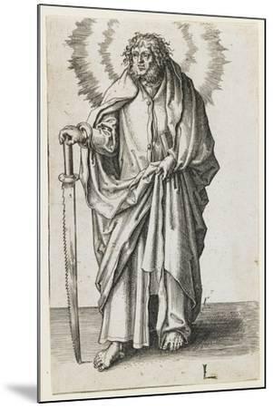 St. James Minor, 1510-Lucas van Leyden-Mounted Giclee Print