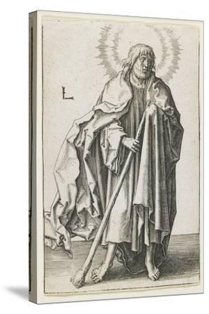 St. Thaddeus, 1510-Lucas van Leyden-Stretched Canvas Print