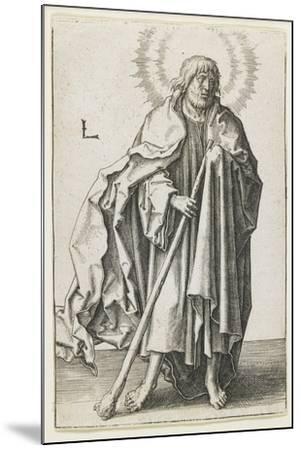 St. Thaddeus, 1510-Lucas van Leyden-Mounted Giclee Print
