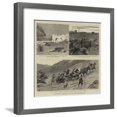 The War Between Servia and Bulgaria-Maksymiljan Antoni Piotrowski-Framed Giclee Print