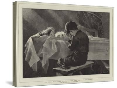Go, Thou Must Play Alone, My Boy, Thy Sister Is in Heaven-Marianne Stokes-Stretched Canvas Print