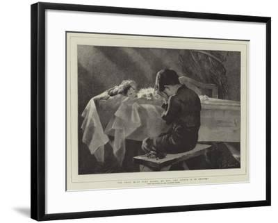Go, Thou Must Play Alone, My Boy, Thy Sister Is in Heaven-Marianne Stokes-Framed Giclee Print