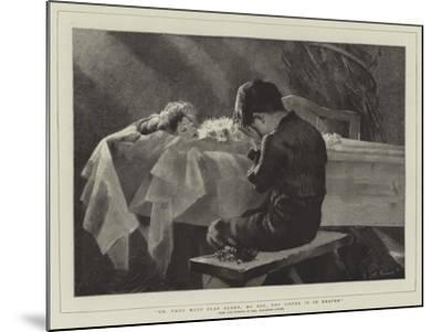 Go, Thou Must Play Alone, My Boy, Thy Sister Is in Heaven-Marianne Stokes-Mounted Giclee Print