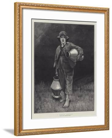 A Cornish Milk-Boy-Marianne Stokes-Framed Giclee Print