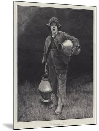 A Cornish Milk-Boy-Marianne Stokes-Mounted Giclee Print