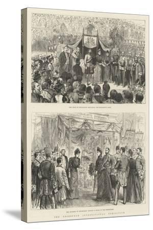 The Edinburgh International Exhibition-Melton Prior-Stretched Canvas Print