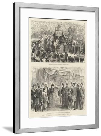 The Edinburgh International Exhibition-Melton Prior-Framed Giclee Print