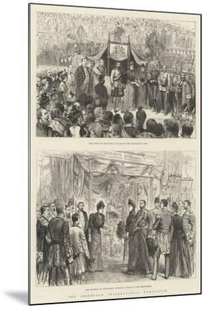The Edinburgh International Exhibition-Melton Prior-Mounted Giclee Print