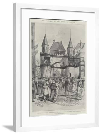 The Crowning of the Queen of Holland-Melton Prior-Framed Giclee Print
