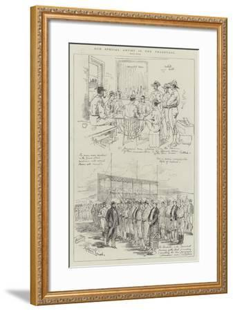Our Special Artists in the Transvaal-Melton Prior-Framed Giclee Print
