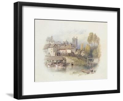 Nantes, France-Myles Birket Foster-Framed Giclee Print