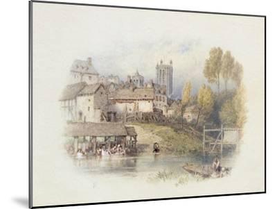Nantes, France-Myles Birket Foster-Mounted Giclee Print