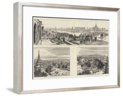 Mandalay, the Capital of Burmah-Melton Prior-Framed Giclee Print