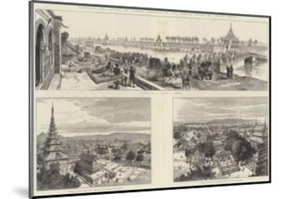 Mandalay, the Capital of Burmah-Melton Prior-Mounted Giclee Print